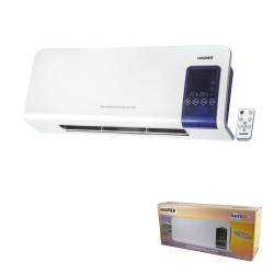 Termoconvector Split de Pared 1000 / 2000 Watt. Indicador LCD