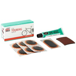 Kit De Parches Para Bici, Kit Completo 7 Parches Con Pegamento y Lija