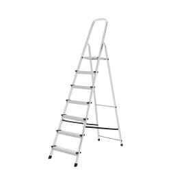 Escalera Aluminio Oryx  7 Peldaños Doméstica