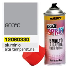Spray Pintura Resistente Altas Temperaturas Aluminio   400 ml.