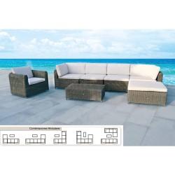 """Manguera Verde Trebol Trenzado 25 mm. - 1"""" Rollo 50 metros"""