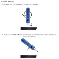 Contera Goma Rectangular 28 x 13 mm. bolsa 100 Unidades